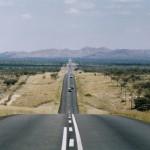 Die B1 in Namibia