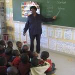 Unterricht in Namibia